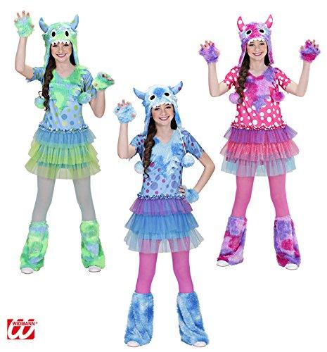 Unbekannt Aptafêtes-cs881606/140-Kostüm Monster Girl-Größe 140cm-8/10Jahre (Monster Girl Kostüme)