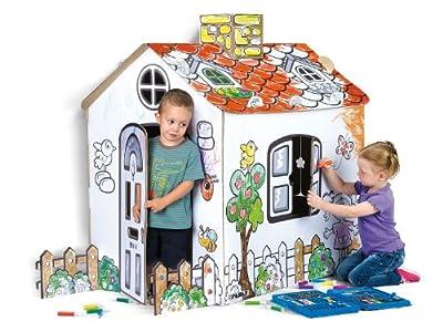 Famosa 800007513 - Casa de cartón para decorar por Famosa
