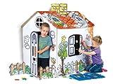 Seitenschläferkissen - Feber 800007513 - Papphaus zum Bemalen