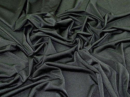Zwei Ton Slinky Diablo Stretch Jersey Knit Kleid Stoff dunkelgrün-Meterware - Slinky Stretch