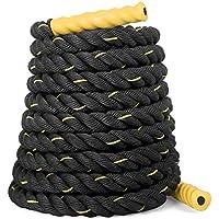 Sportplus - Corde d'entraînement et de Sport de Haute qualité - Parfait pour Crossfit, Endurance de Force et Renforcement Musculaire - Corde à Serpent - Longueur 9/12/15 Mètres