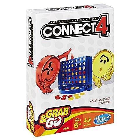 Verbinde 4- nehmen und gehen. HASBRO !! Können Sie die Verbindung herstellen?