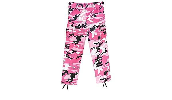 Rothco 66116 Kids Pink Camo BDU Pants