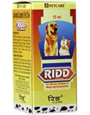 Dog Lovers Ridd Anti-Tick and Flea Solution Controller (15 ml)