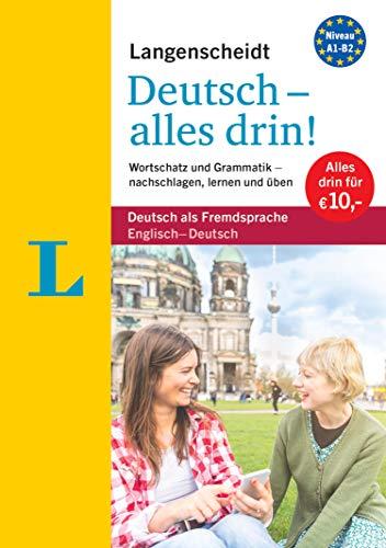 Langenscheidt Deutsch - alles drin!  - Basiswissen Deutsch in einem Band: Wortschatz und Grammatik - nachschlagen, lernen und üben (Langenscheidt - Alles drin!)