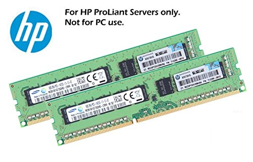 HP 2x 8GB 16GB 2Rx8 ECC DDR3 UDIMM fr HP ProLiant Microserver und G1610T Gen8 Systeme (Zertifiziert und Generalberholt)