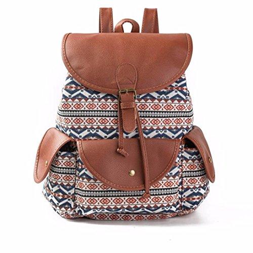 Koly_Le donne del vento nazionale di stampa dello zaino Drawstring Shopping Bag D