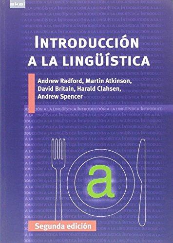 Introducción Lingüística: Segunda Edición