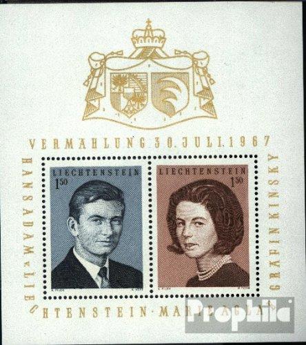 Prophila Liechtenstein Block7 (kompl.Ausg.) 1967 Königl. Hochzeit (Briefmarken für Sammler)