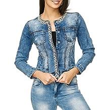 offizieller Preis am beliebtesten wähle spätestens Suchergebnis auf Amazon.de für: jeansjacke mit perlen - Blau