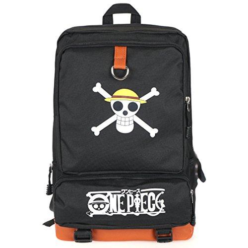 CoolChange One Piece Rucksack mit Jolly Roger der Strohhutbande