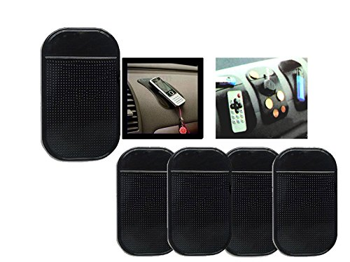 pwshop24 5x Anti Rutsch Matte Pad Auto Kfz Klebepad Slip Handy Mp3 Smartphone iPhone PDA -