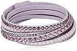 Swarovski Damen-Armband Slake Deluxe Light Pink Stoff Glas mehrfarbig - 5120639