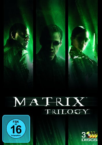 Matrix Trilogie [3 DVDs] (Trinity Matrix Neo)