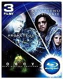 Prometeusz / Obcy / Królestwo Niebieskie (BOX) [3Blu-Ray] [Region B] (IMPORT) (Keine deutsche Version)