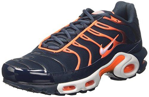 Preisvergleich Produktbild Nike Air Max Plus, Herren Trainer, Blau (Armory Navy/pure Platinum/tart/wolf Grey), 40 EU