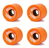Best Skateboard Wheels - RaceBon 70mm Longboard Skateboard Wheels Hardness 78A Polyurethane Review