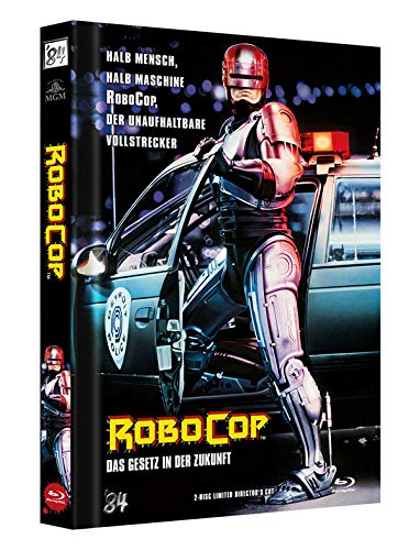 RoboCop 1 - 2-Disc Limited Director's Cut - Mediabook, Cover A (+ DVD) [Blu-ray]