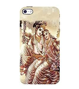 FIOBS Lord Vishnu Family Designer Designer Back Case Cover for Apple iPhone 4