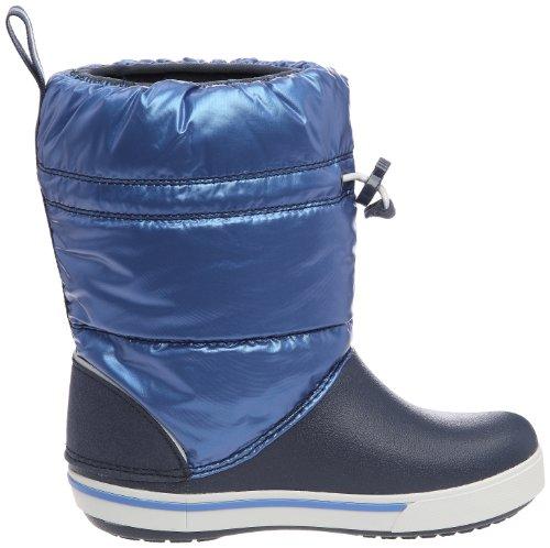 Crocs Crocband(TM) Iridescent Gust Boot Kids, Boots mixte enfant Bleu (Navy/Sea Blue)