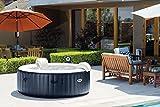"Intex PureSpa Bubble Massage 85"" 6 Person Round Inflatable Hot Tub"