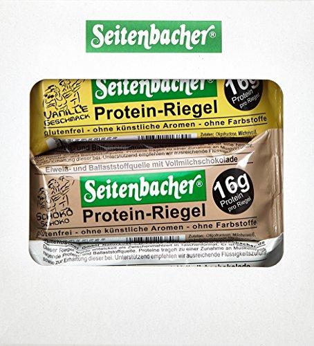 Seitenbacher Probierbox mit je 6 Proteinriegeln, 2er Pack (2 x 370 g)