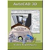 AutoCAD 2008 3D Video-Schulung. Windows Vista, XP, 2000, ME, 98: 4 Stunden Video-Training (73 Videos). Für Windows 98/ME/2000/XP/Vista