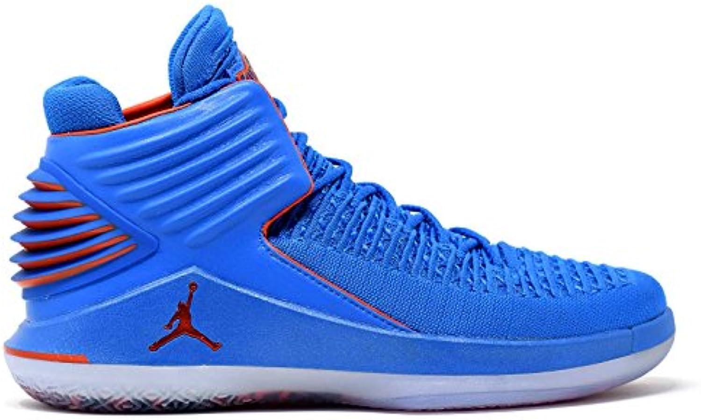 Jordan XXXIl   Performance Mid Top Sneaker   Blau