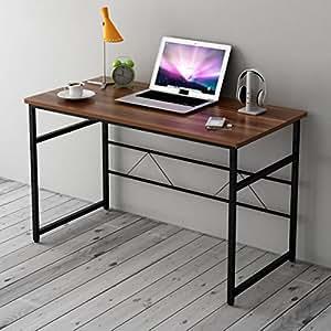 Cherry Tree Furniture Sleek Design Computer Desk Home Office Table W100 X D50 X H 72 Cm Walnut