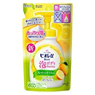 Biorre u Body wash coming out with foam Citrus for refilling 480ml Japan