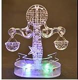 3D Crystal Puzzle 12 montierte Konstellationen basteln puzzle Spielzeug LED Licht (Libra)