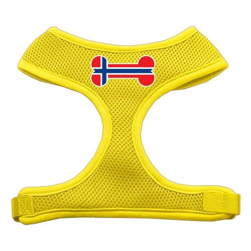 Mirage Bone Bandera Noruega Protector impresión Suave