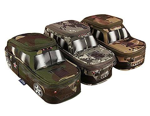 MMY-Jeep-Trousse Scolaire Sac de Crayon Stylo Maquillage Pochette Multi-usages Rangement