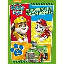 Paw Patrol. Cuaderno de vacaciones - 2 años (Cuadernos de vacaciones de La Patrulla Canina)