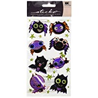 Sticko Bats and Spiders Sticker