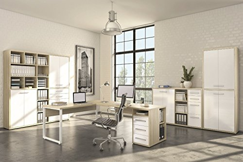 Komplettes Arbeitszimmer
