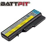 Battpit Laptop Akku für Lenovo L09S6Y02 L09L6Y02 L09M6Y02 L10C6Y02 L10P6Y22 IdeaPad G560E G570 G780 Z370 Z565 Z570 Z575 B570 B570e2 - [6 Zellen/4400mAh/48Wh]