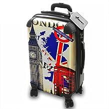 Colección 139, Custom ligero 360 grado 4 ruedas Spinner equipaje bolsa de viaje carcasa rígida