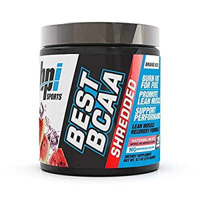 BPI Sports Best Bcaa Shredded Caffeine Free Thermogenic Recovery Formula For Lean Muscle Growth 9.7 Ounce by BPI Sports
