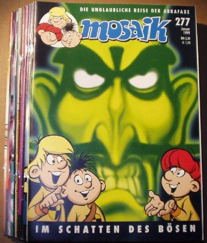 Bestell.Nr. 51570 Mosaik 12 Hefte Jahrgang 1999
