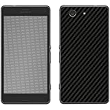 "Skin Sony Xperia Z3 Compact ""FX-Carbon-Black"" Designfolie Sticker"