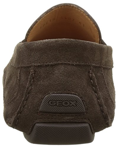 Geox U Melbourne A, Mocassini Uomo Marrone (Chocolatec6005)