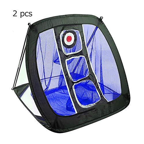 Bequem Indoor Outdoor Einsatz Golfnetz Trainingshilfen Golf Übungsnetz Zielsystem Mit Mit Target & Carry Bag 2 Stück dauerhaft (Farbe : C1, Größe : Einheitsgröße)