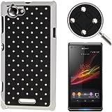 Rocina Diamond Bling Case in schwarz für Sony xperia L / S36h Handyhülle Schutzcase