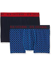 Ben Sherman Men's Felix Boxer Shorts (Pack of 2)