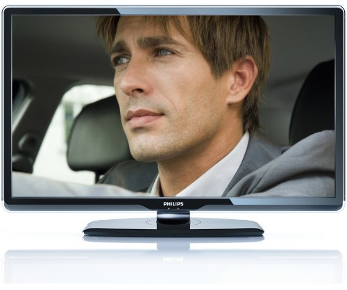 Philips 47 PFL 8404 H 119,4 cm (47 Zoll) Full-HD Ambilight LCD-Fernseher mit integriertem DVB-T / DVB-C Tuner schwarz Mpeg4 Net