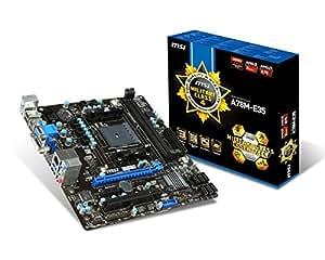 MSI A78M-E35 Carte mère AMD Micro ATX Socket FM2+