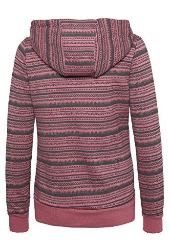 Sublevel sweat à capuche femme Middle Pink