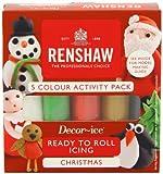 Youdoit Renshaw Rollfondant Pro Multipack - Christmas - 5 x 100 g