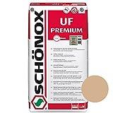 Schönox UF Premium Bahamabeige | Glas - Stein- Naturstein- Marmormörtel | Fugenmörtel | Fliesenmörtel | Mosaikmörtel (5Kg)